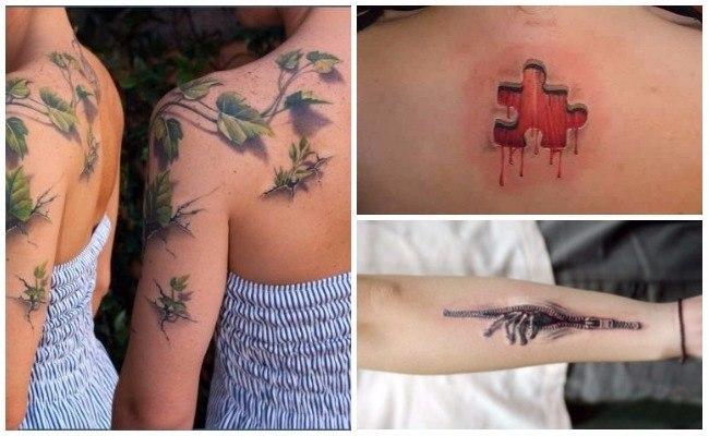 3d tatuajes