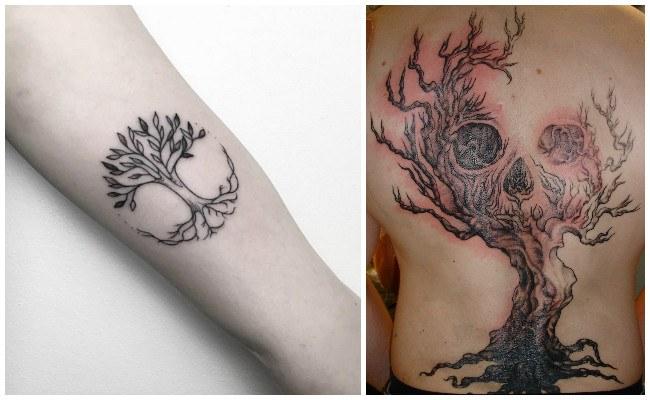 El árbol de la vida cabala para tatuajes