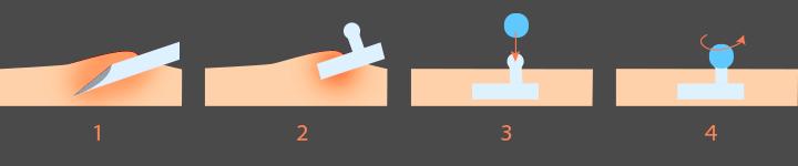 como se hace piercing microdermal