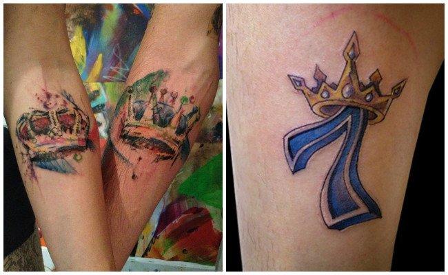 Coronas en tatuajes