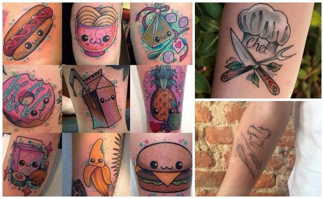 Dibujos de tatuajes de chef