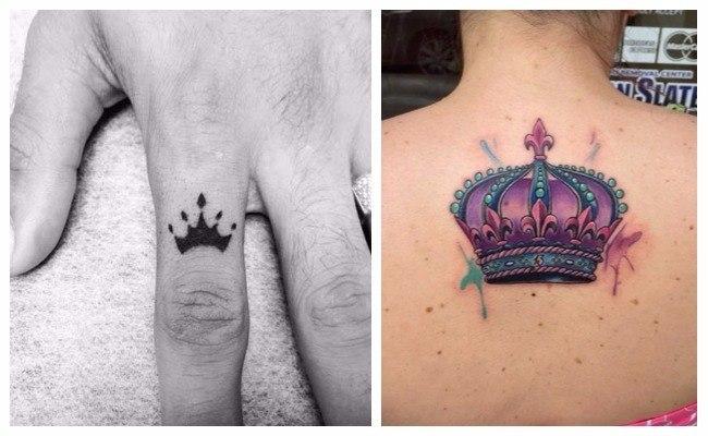 Diseños de coronas para tatuajes