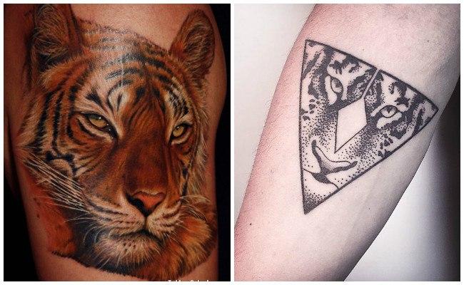 Diseños de tatuajes de tigres