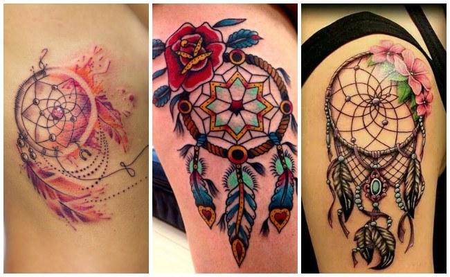 Diseños de tatuaje de atrapasueños