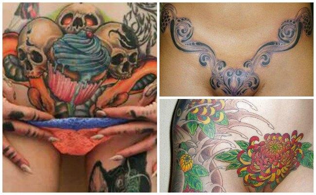 Diseños de tatuajes en la vagina