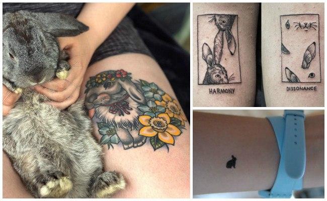 Diseños de tatuajes de conejos