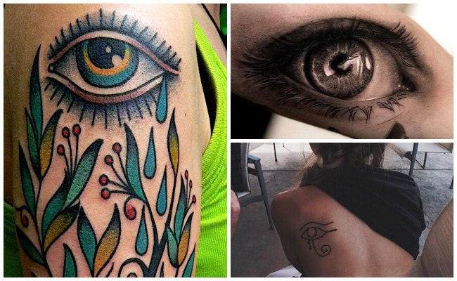 Diseños de tatuajes de ojos