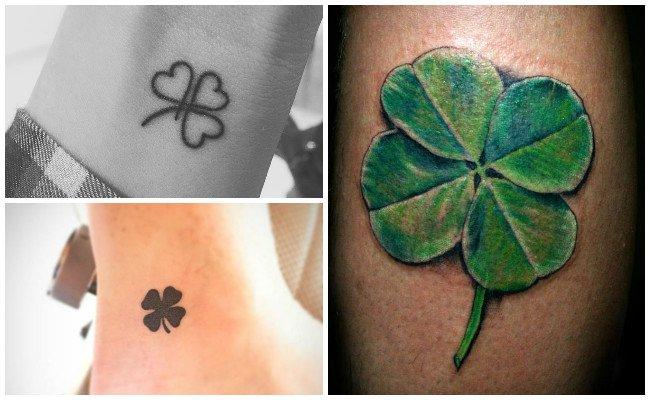 Diseños de tatuajes de tréboles
