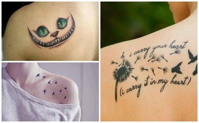 Diseños de tatuajes en el hombro