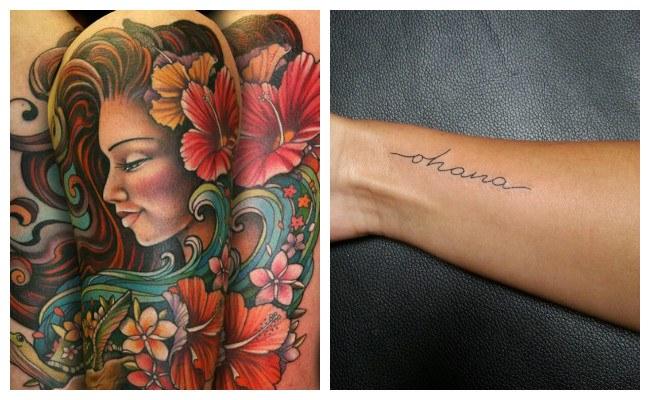 Diseños de tatuajes hawaianos