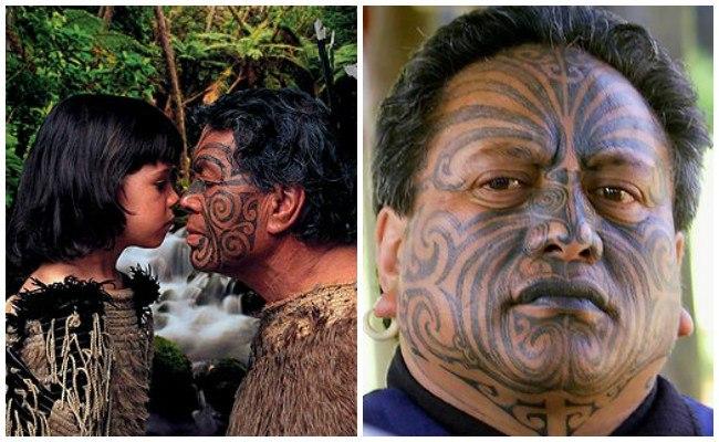 Diseños de tatuajes maoríes