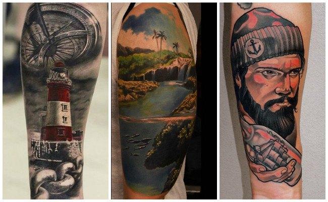 Diseños de tatuajes marineros
