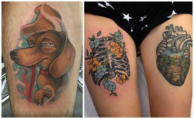Diseños de tatuajes modernos