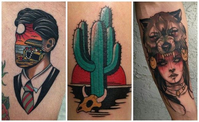 Diseños de tatuajes de nueva escuela