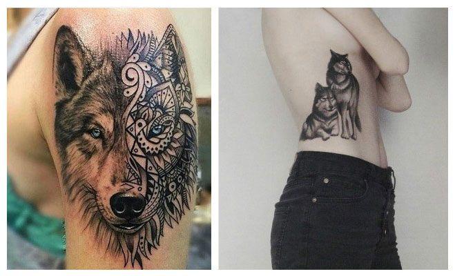 Tatuajes de lobos cu l es su verdadero significado for Calavera lobo