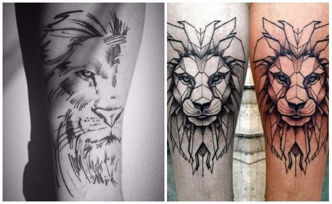 Fotos de tatuajes de leones