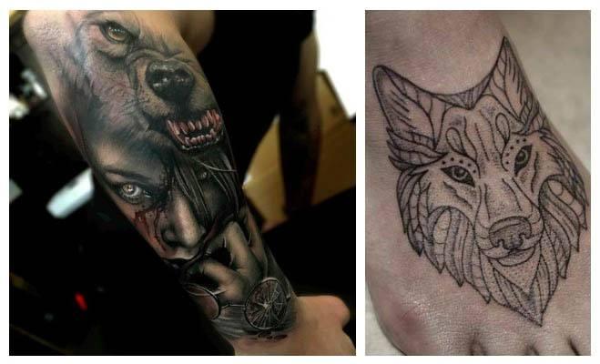 Fotos de tatuajes de lobos y su significado
