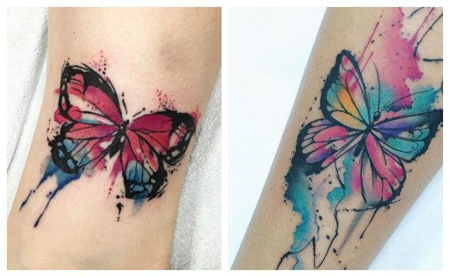 Fotos de tatuajes de mariposas