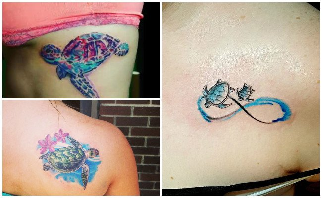 Fotos de tatuajes de tortugas