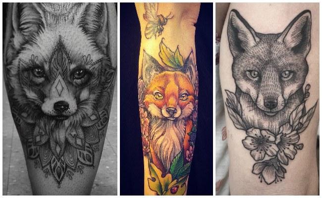 Fotos de tatuajes de zorros