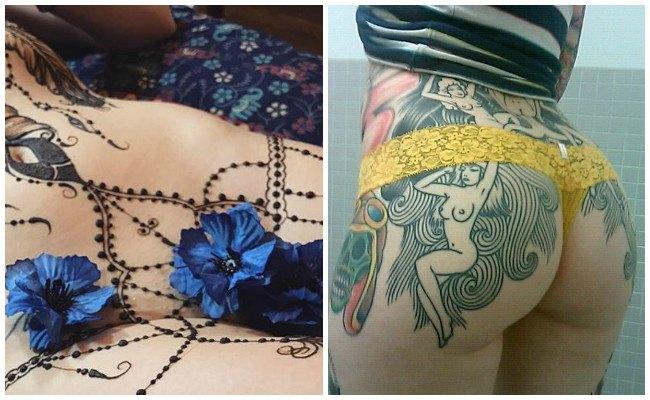 Fotos de tatuajes en partes íntimas