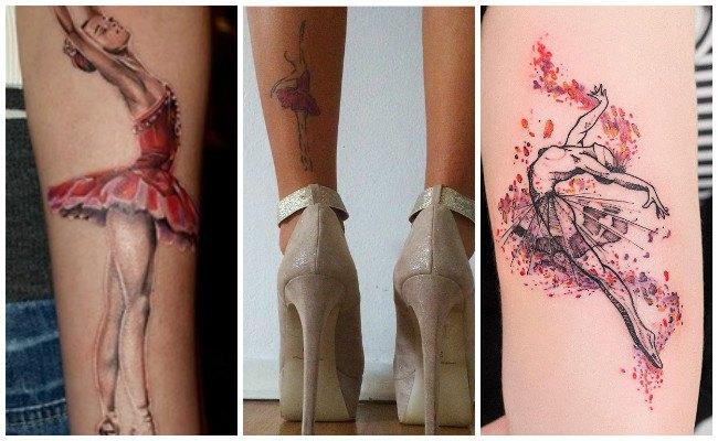 Fotos de tatuajes de bailarinas