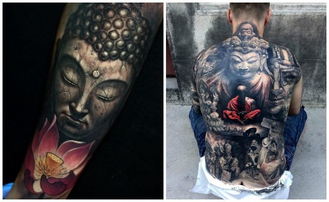 Fotos de tatuajes de buda