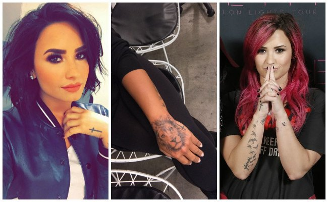 Fotos de tatuajes de demi lovato