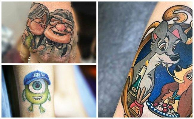 Fotos de tatuajes de disney