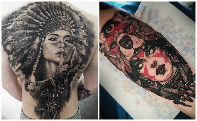 Fotos de tatuajes de indios
