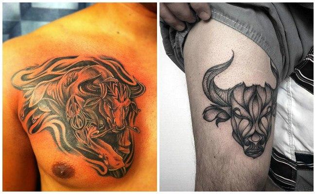 Fotos de tatuajes de toros