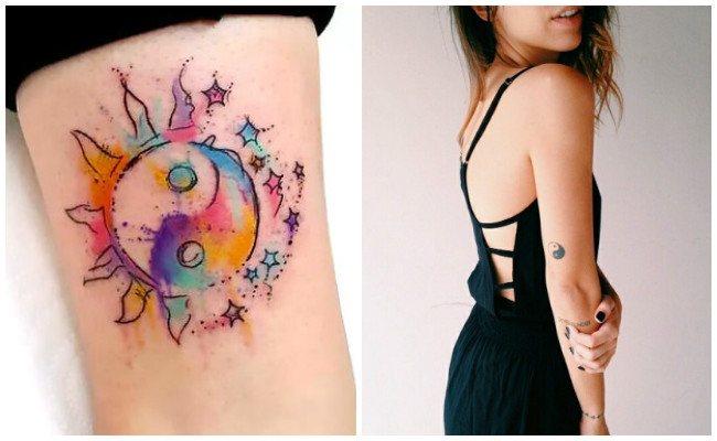 Fotos de tatuajes de yin yang