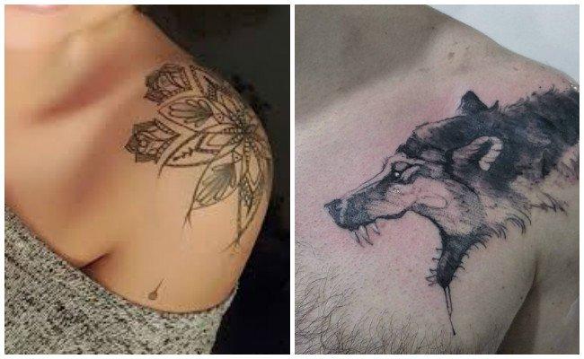 Fotos de tatuajes en el hombro