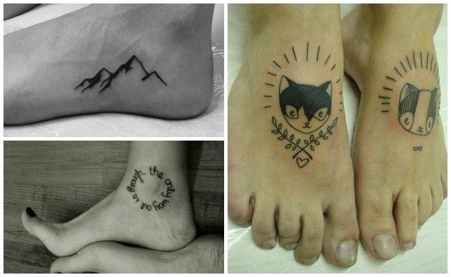 Fotos de tatuajes en el tobillo