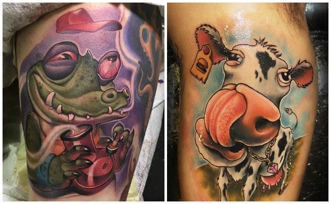 Fotos de tatuajes new school