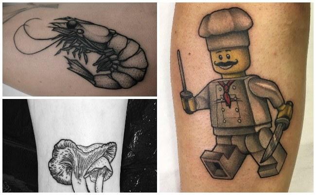 Fotos de tatuajes para chef