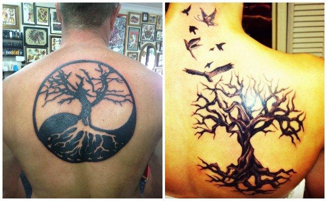 Frases de tatuajes de árbol de la vida