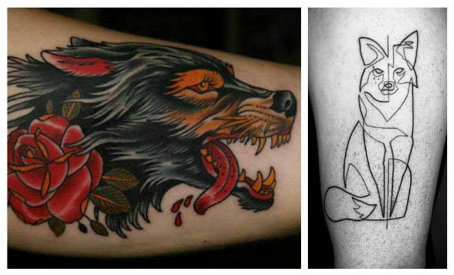 Galería de tatuajes de lobos