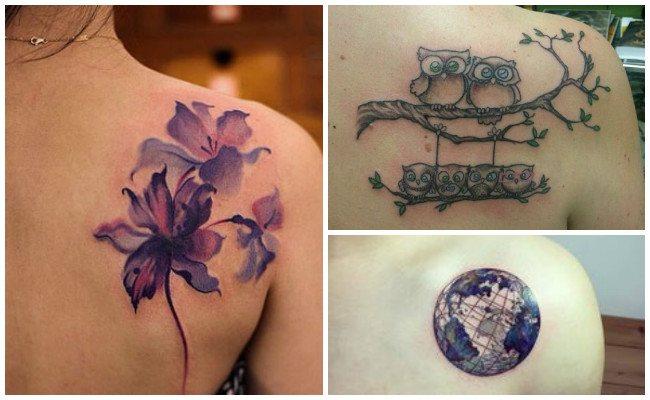 Ideas de tatuajes en el hombro