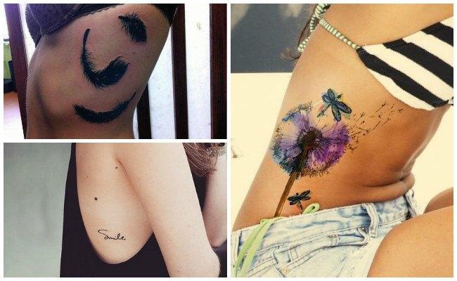 Ideas de tatuajes en las costillas