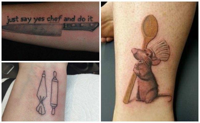 Imágenes de tatuajes de chef