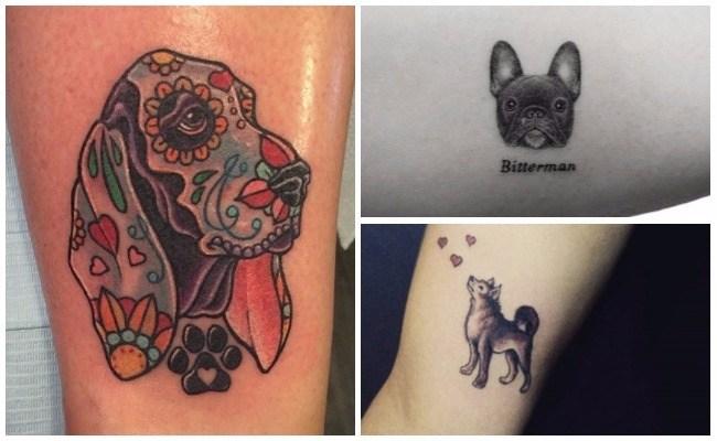 Imágenes de tatuajes de perros