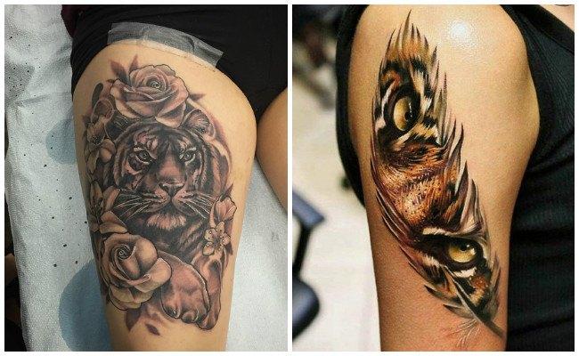 Imágenes de tigres para tatuajes