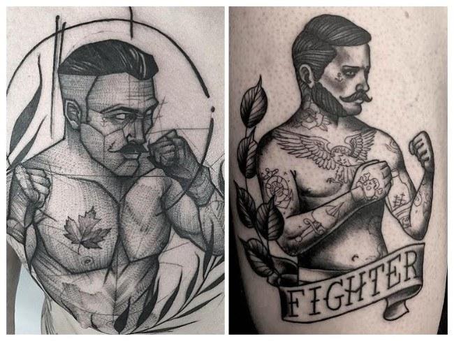 Imágenes y diseños de tatuajes de boxeo