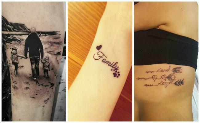 Imágenes de tatuajes con nombres de hijos
