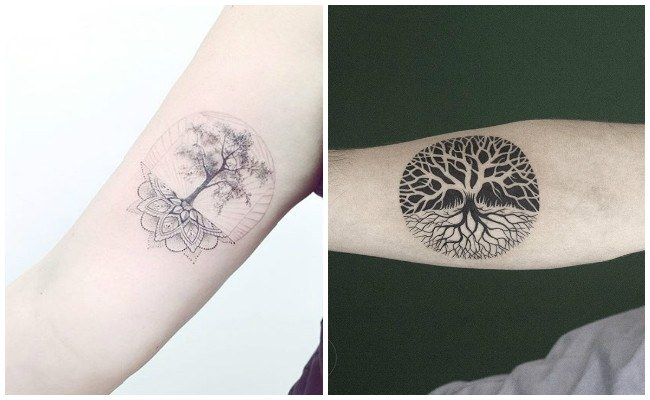 Imágenes de tatuajes de árbol de la vida