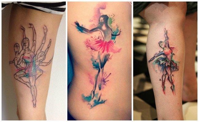 Imágenes de tatuajes de bailarinas