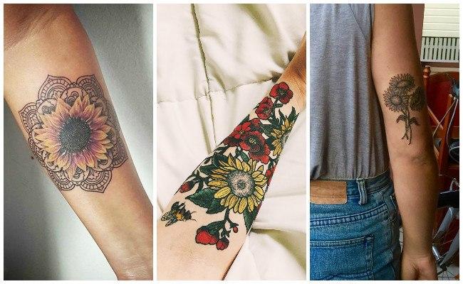 Imágenes de tatuajes de girasoles