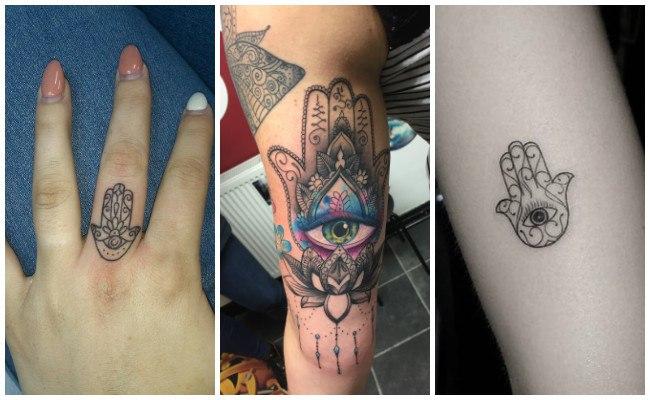 Imágenes de tatuajes de la mano de fátima