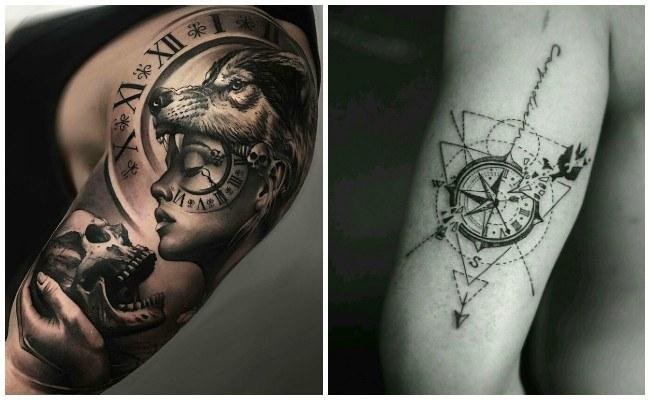 Imágenes de tatuajes de relojes